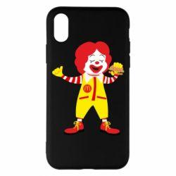 Чохол для iPhone X/Xs Clown McDonald's