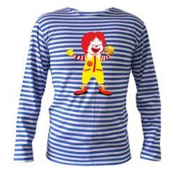 Тільник з довгим рукавом Clown McDonald's