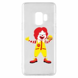 Чохол для Samsung S9 Clown McDonald's