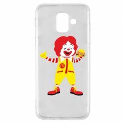 Чохол для Samsung A6 2018 Clown McDonald's