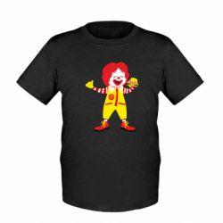 Дитяча футболка Clown McDonald's