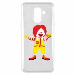 Чохол для Samsung A6+ 2018 Clown McDonald's