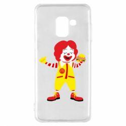 Чохол для Samsung A8 2018 Clown McDonald's