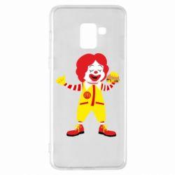 Чохол для Samsung A8+ 2018 Clown McDonald's