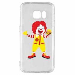 Чохол для Samsung S7 Clown McDonald's
