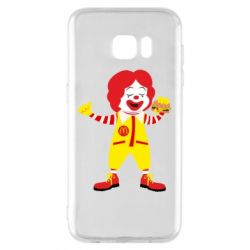 Чохол для Samsung S7 EDGE Clown McDonald's
