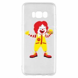 Чохол для Samsung S8 Clown McDonald's