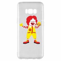 Чохол для Samsung S8+ Clown McDonald's