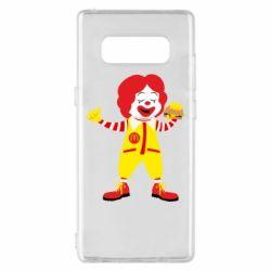 Чохол для Samsung Note 8 Clown McDonald's