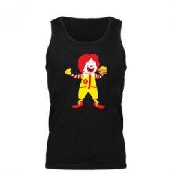 Майка чоловіча Clown McDonald's
