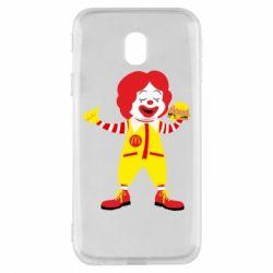 Чохол для Samsung J3 2017 Clown McDonald's