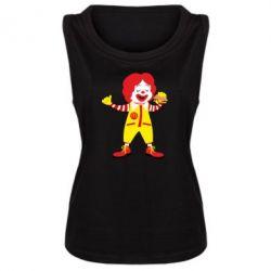 Майка жіноча Clown McDonald's
