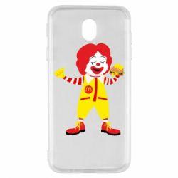 Чохол для Samsung J7 2017 Clown McDonald's