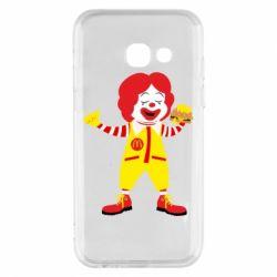 Чохол для Samsung A3 2017 Clown McDonald's