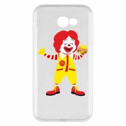Чохол для Samsung A7 2017 Clown McDonald's