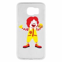 Чохол для Samsung S6 Clown McDonald's