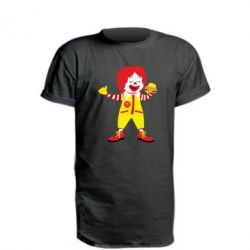 Подовжена футболка Clown McDonald's