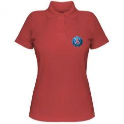 Женская футболка поло Club psg