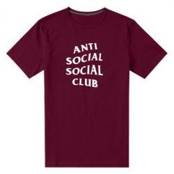 Мужская стрейчевая футболка Club