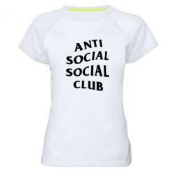 Женская спортивная футболка Club
