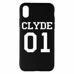 Чехол для iPhone X/Xs Clyde 01