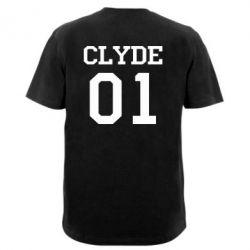 Мужская футболка  с V-образным вырезом Clyde 01
