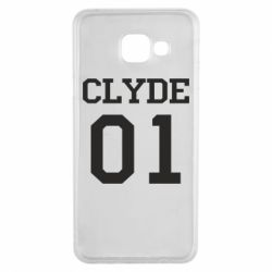 Чехол для Samsung A3 2016 Clyde 01