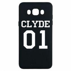 Чехол для Samsung J7 2016 Clyde 01