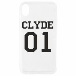 Чехол для iPhone XR Clyde 01