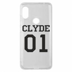 Чехол для Xiaomi Redmi Note 6 Pro Clyde 01