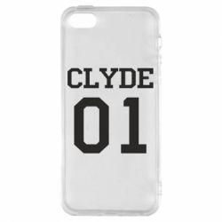Чехол для iPhone5/5S/SE Clyde 01