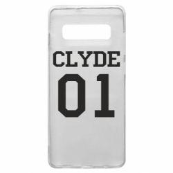 Чехол для Samsung S10+ Clyde 01
