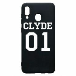 Чехол для Samsung A20 Clyde 01