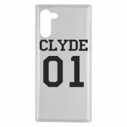 Чехол для Samsung Note 10 Clyde 01