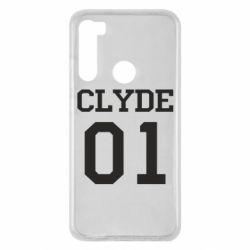 Чехол для Xiaomi Redmi Note 8 Clyde 01
