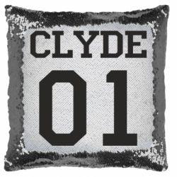 Подушка-хамелеон Clyde 01