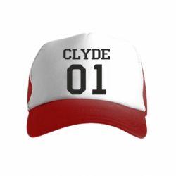 Детская кепка-тракер Clyde 01