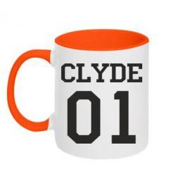 Кружка двухцветная 320ml Clyde 01