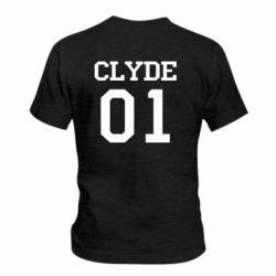 Детская футболка Clyde 01