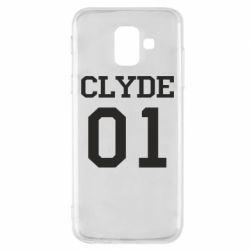 Чехол для Samsung A6 2018 Clyde 01