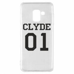 Чехол для Samsung A8 2018 Clyde 01
