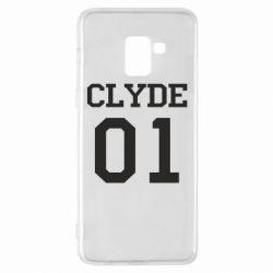Чехол для Samsung A8+ 2018 Clyde 01