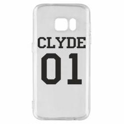 Чехол для Samsung S7 Clyde 01