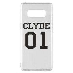 Чехол для Samsung Note 8 Clyde 01