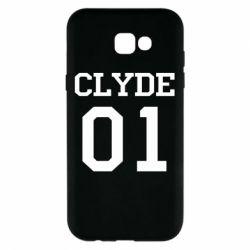 Чехол для Samsung A7 2017 Clyde 01