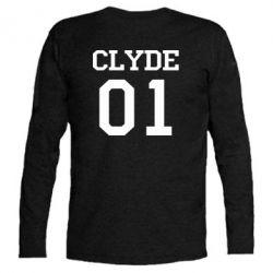 Футболка с длинным рукавом Clyde 01