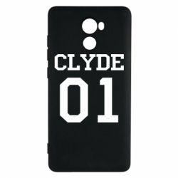 Чехол для Xiaomi Redmi 4 Clyde 01