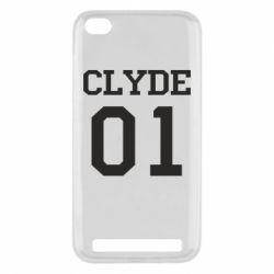 Чехол для Xiaomi Redmi 5a Clyde 01