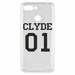 Чехол для Xiaomi Redmi 6 Clyde 01