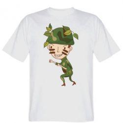 Мужская футболка Cміливий солдат - FatLine